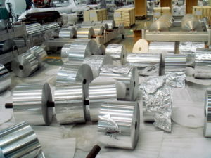 Alloy 8011 10 Microns FDA Certified Aluminum Foil Package Roll pictures & photos