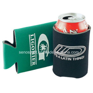 Low Price Custom Logo Foam Can Cooler for Sale (SNCC05)