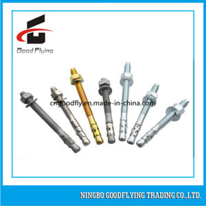 M10 Ss304/Ss316 Stainless Steel Wedge Anchor