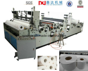 Good Quality Automatic Slitting Rewinding Toilet Tissue Paper Small Bobbin Making Machine pictures & photos