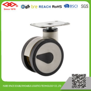 All Size Swivel Top Plate All Plastic Medical Caster (P530-34F100X56D) pictures & photos
