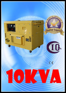 Good Price Electric Generator 8.5kw/10kVA Air Cooled Small Silent Diesel Generator Set