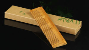 Bamboo Comb with Print Logo Gift Box pictures & photos