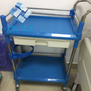 Hospital Medical Trolley/Hospital Trolley/ Clinic Trolley pictures & photos
