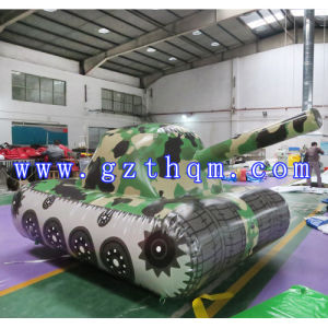 Outdoor Game Inflatable Tank Car Model pictures & photos