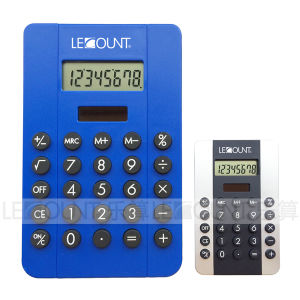 Portable 8 Digits Dual Power Small Pocket Calculator with Various Optional Colors (LC333A)