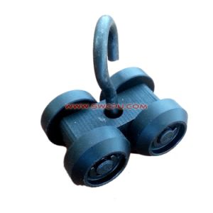 Colorful Practical Plastic Nylon Guide Pulley Wheel / POM Bearing Sheave / Roller pictures & photos
