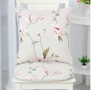 High-Grade Embroidery Linen Sofa Cushion pictures & photos