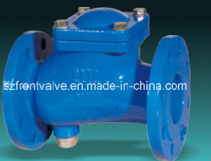 Flanged End Cast Iron Ball Check Valve pictures & photos