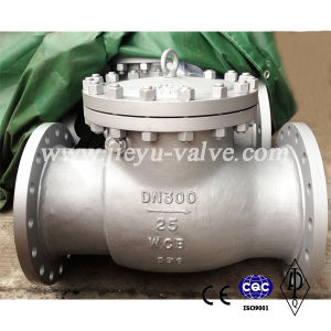 Dn200 Manual Swing Type Flange Wcb Check Valve pictures & photos