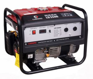 Hot Sale! ! ! AC Single Phase 7.5HP 4000W Gasoline Generator with 100% Copper Wire pictures & photos