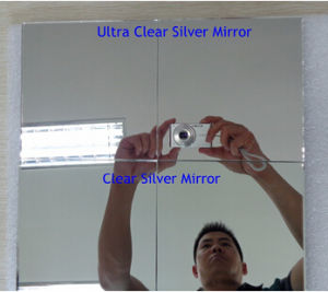2-6mm Clear Silver Mirror Glass with Double Coated pictures & photos