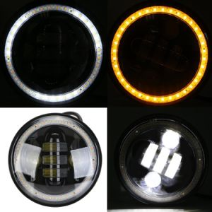 Harley 40W 5.75′′ High/Low Beam LED Headlight for Motor pictures & photos