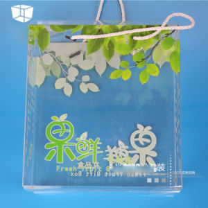 OEM Fruit Gift Box with Color Printing (folding fruit basket) pictures & photos