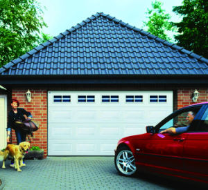 Strong and Popular Automatic Sectional Garage Door pictures & photos