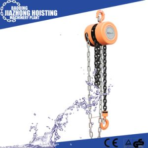 China Factory Hsz Type 10ton 3meter Black Chain Hoist