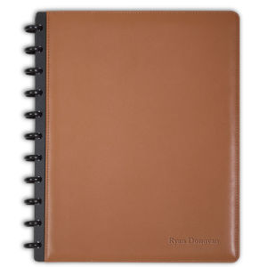 School Notebook with Spiral, Eco Friendly Brown Paper Notebook, Recycled Paper Spiral Notebook pictures & photos