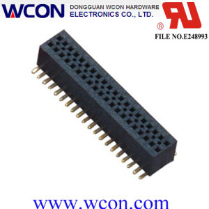 0.8mm Female Header, Dual Row, SMT, Female Connector