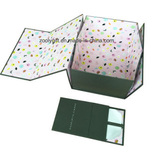 Customized Logo Printing Rigid Cardboard Foldable Paper Packaging Storage Gift Box pictures & photos
