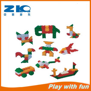 Environmental Plastic Toy Building Bricks for Wholesale pictures & photos