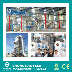 High Capacity Complete Wood Pellet Mill Production Line pictures & photos