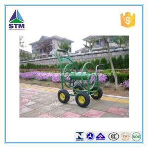 Durable Garden Rolling Hose Reel Cart/ Hose Reel Car in Garden