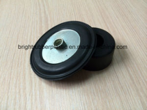 Black Coated Iron Shock Absorber Rubber Sheet, ISO9001 pictures & photos
