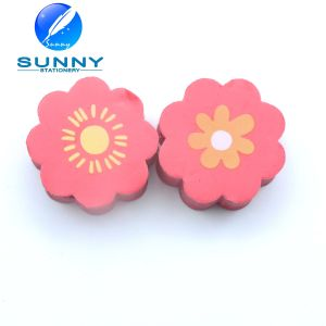 Flower Shaped 2D Eraser for School Children pictures & photos