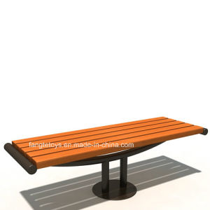 Park Bench, Picnic Table, Cast Iron Feet Wooden Bench, Park Furniture FT-Pb034