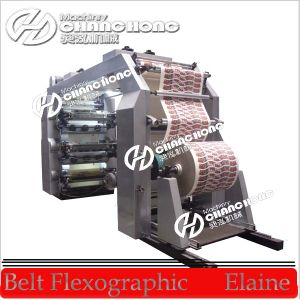 Colors Printed Kraft Paper Flexographic Printing Machine (CE standard) pictures & photos