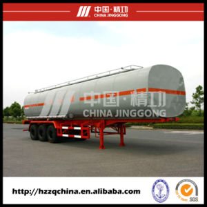 LNG Tank Trailer, Liquid Tank Semi-Trailer for Transporting Chemical Liquid