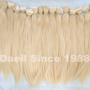 Human Hair Attachment Hair Extension in Stock pictures & photos