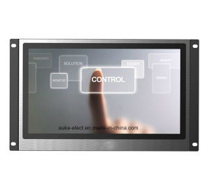 "13.3"" TFT LCD Monitor with HDMI/DVI/VGA Input for CCTV Application pictures & photos"