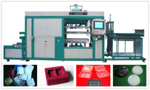 High Speed Plastic Vacuum Forming Machine by PLC Control