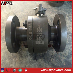 Flanged End Stainless Steel Floating Ball Valve (Q41F) pictures & photos