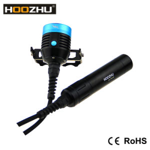 Hoozhu Hu33 Canister Diving Light Max 4000 Lumens Waterproof 120m LED Light for Diving