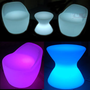 LED Bar Furniture Plastic Chair LED Furniture Image pictures & photos