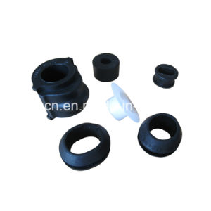 Custom Heat Resistance Small Rubber Grommet Shoulder Sleeve Bushing for Cable pictures & photos