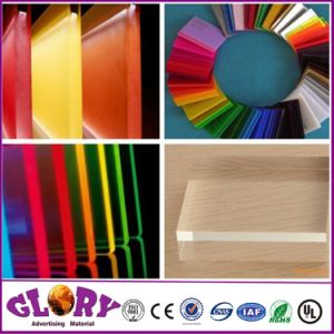 High Transparency Cast Acrylic Sheet and Acrylic Board for Engrave pictures & photos