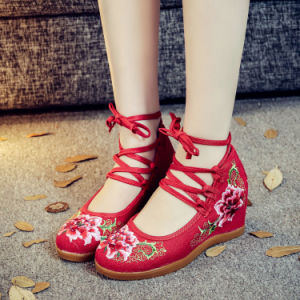 Chinese Women′s Shoes Canvas Fashion Shoes