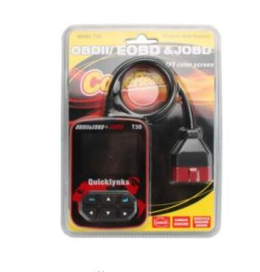 Quicklynks T30 Auto Code Reader T30 Obdii/Eobd/Jobd T30 Highen Diagnostic Scan Tool Auto Code Reader with Color-Screen Display pictures & photos