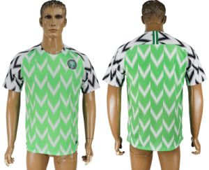 low priced 3c569 2c3fc 2018 World Cup Football Nigeria National Soccer Jersey