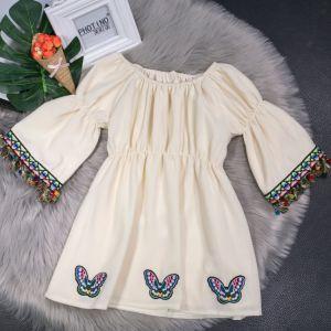 927232b6ed95a 2018 New Korean Girl Princess Dress Fall Dress Western Style Dress