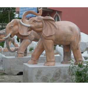 Marble Stone Carving Sculpture Elephant Stone Statue