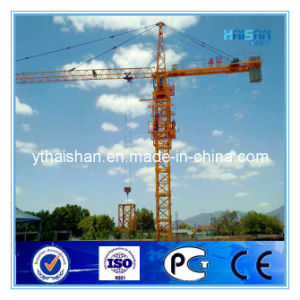 6t Tower Crane Qtz63 (HS5013) with CE, GOST Certificates