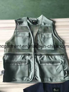 Stock Clothing, Very Cheaper Fishing Vest for Man. Women, Angling Vest