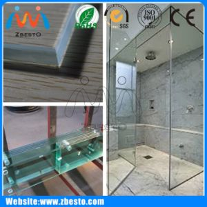8mm, 10mm, 12mm, 15mm Cheap Shower Screen Construction Glass Panel
