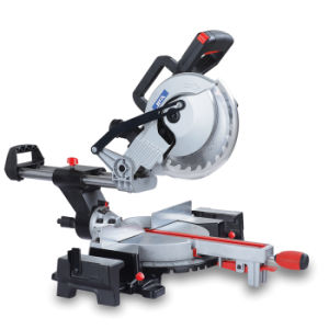210mm 1200W Steel / Aluminum / Wood Cutting Multi Function Compound Miter Saw