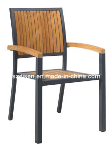 Hotel Use Teak Wood Outdoor Chair (DS-YA341)