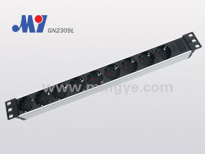 German PDU Socket with Cable (GN2309L)